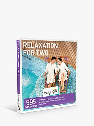 Smartbox by Buyagift Relaxation for Two Gift Experience