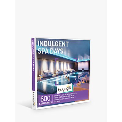 Image of Smartbox by Buyagift Indulgent Spa Days Gift Experience for 2
