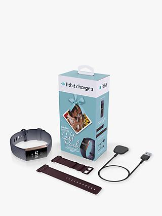 Fitbit Charge 3, Health and Fitness Tracker Limited Edition Gift Pack