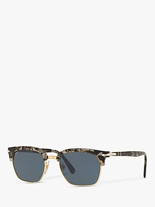 Persol PO3199S Unisex Square Sunglasses, Tortoise Grey/Black