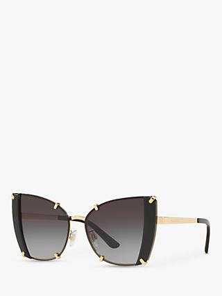 Dolce & Gabbana DG2214 Women's Cat's Eye Sunglasses