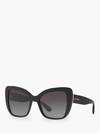 Dolce & Gabbana DG4348 Women's Cat's Eye Sunglasses