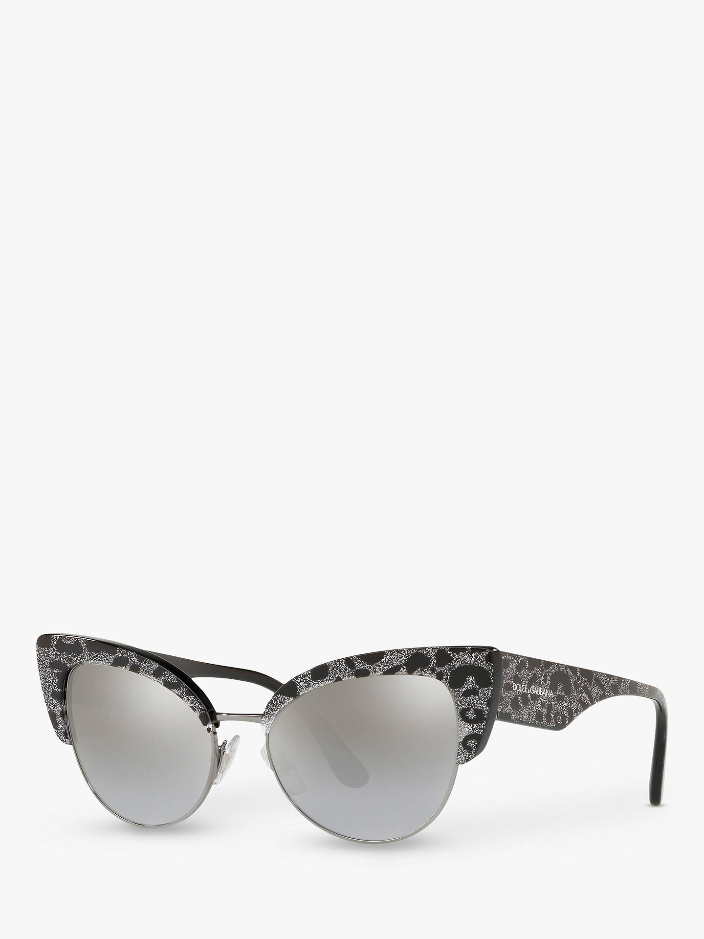 c95bd01392 Dolce   Gabbana DG4346 Women s Cat s Eye Sunglasses at John Lewis ...