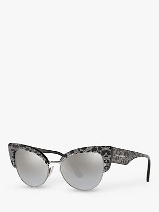 Dolce & Gabbana DG4346 Women's Cat's Eye Sunglasses