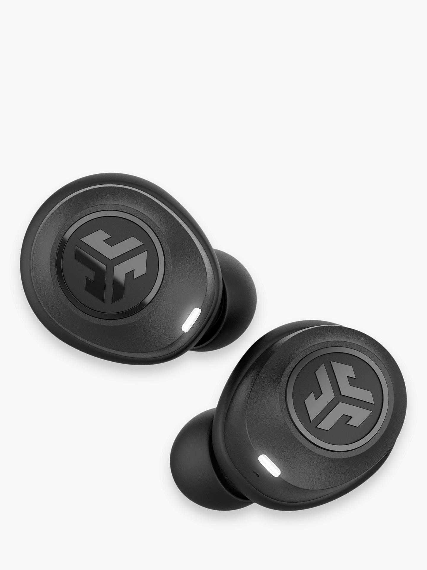 JLab Audio JBuds Air True Wireless Bluetooth In-Ear Headphones with  Mic/Remote, Black
