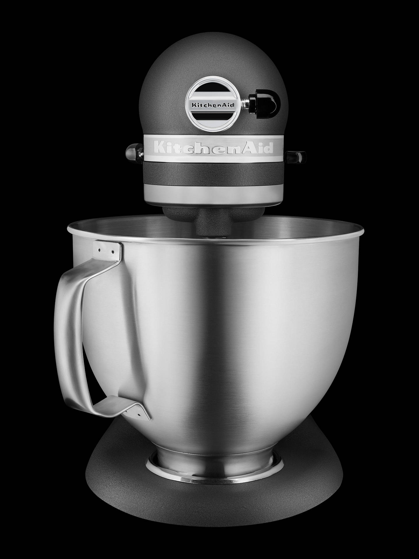 BuyKitchenAid 5KSM156BFP Artisan 4.8L Stand Mixer, Grey Online at johnlewis.com