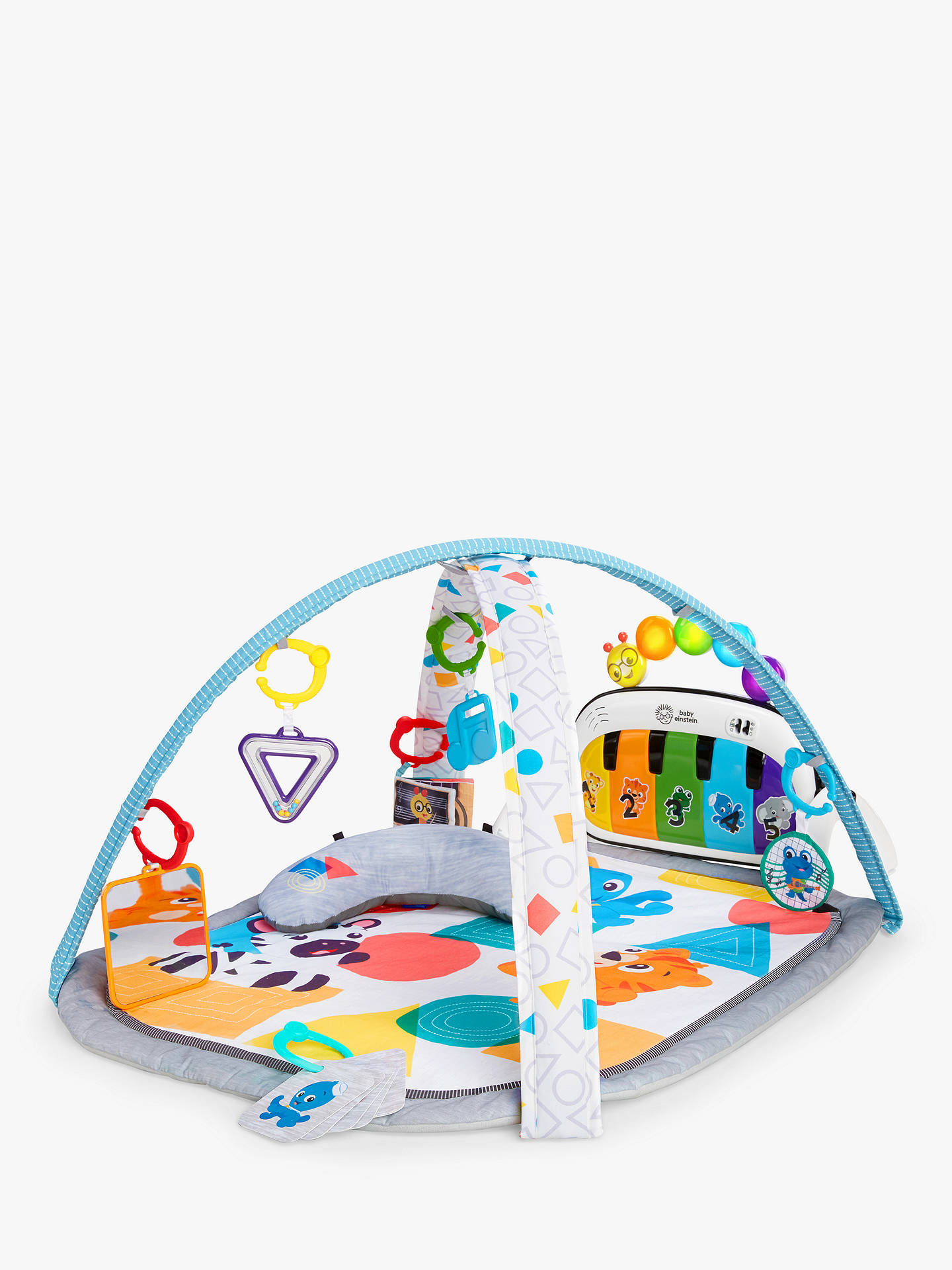 2127f6531cdd Baby Einstein Piano Cap Touch Kick Activity Gym at John Lewis   Partners