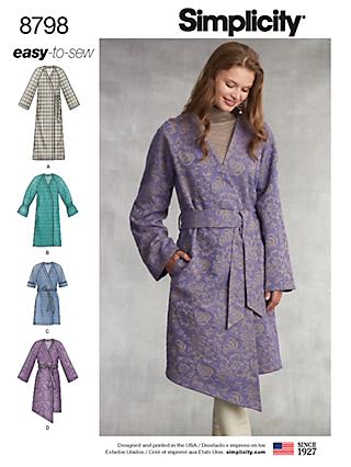 53021374eb4 Simplicity Women s Coat Sewing Pattern