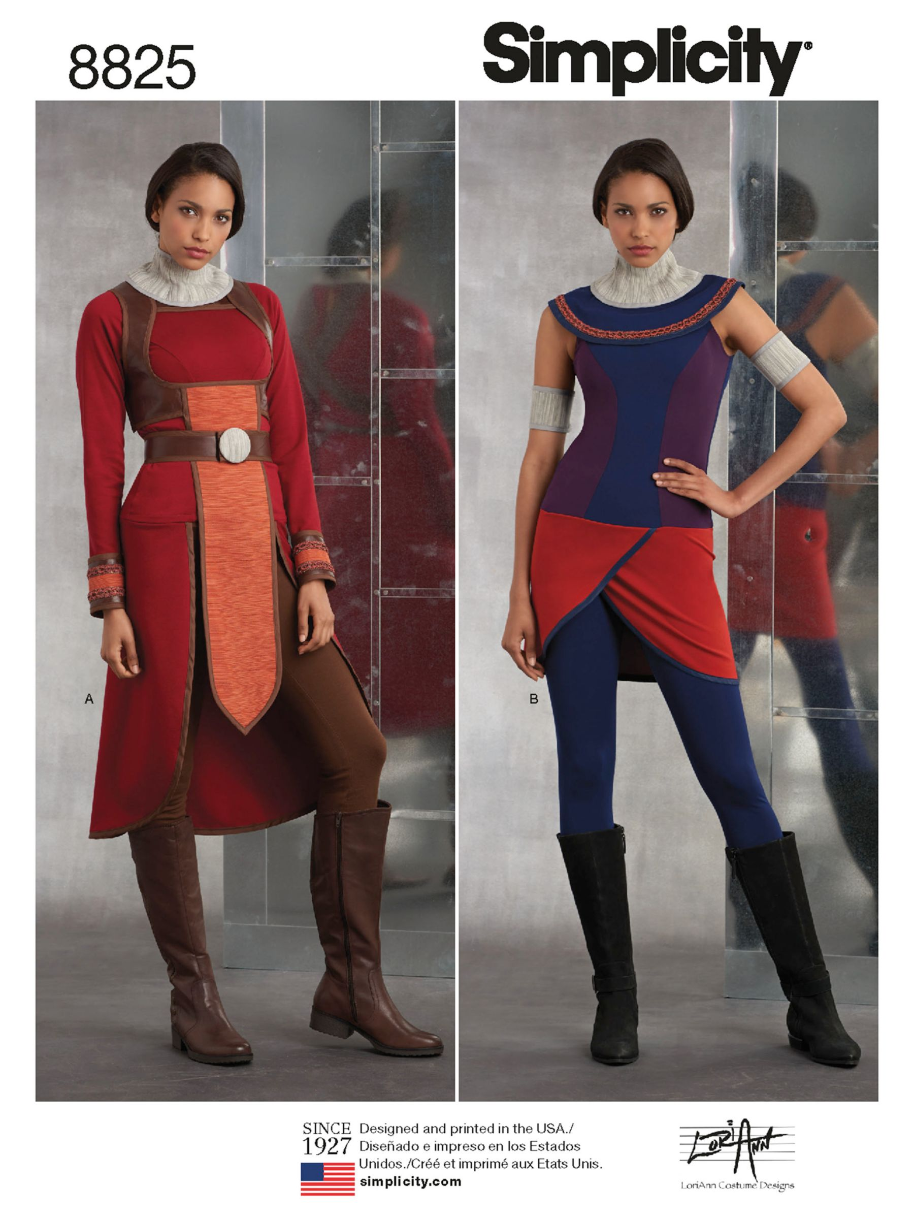 Simplicity Simplicity Women's Guard Costume Sewing Pattern, 8825