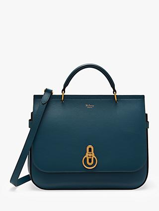 Mulberry Amberley Small Classic Grain Leather Satchel Bag
