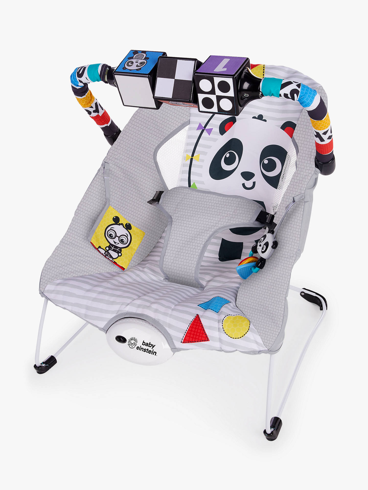 cb535a98240f Baby Einstein Black White and Bright Bouncer at John Lewis   Partners
