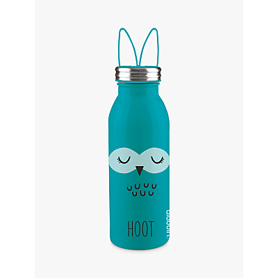 Aladdin Hoot Stainless Steel Vacuum Insulated Water Bottle, 450ml, Green
