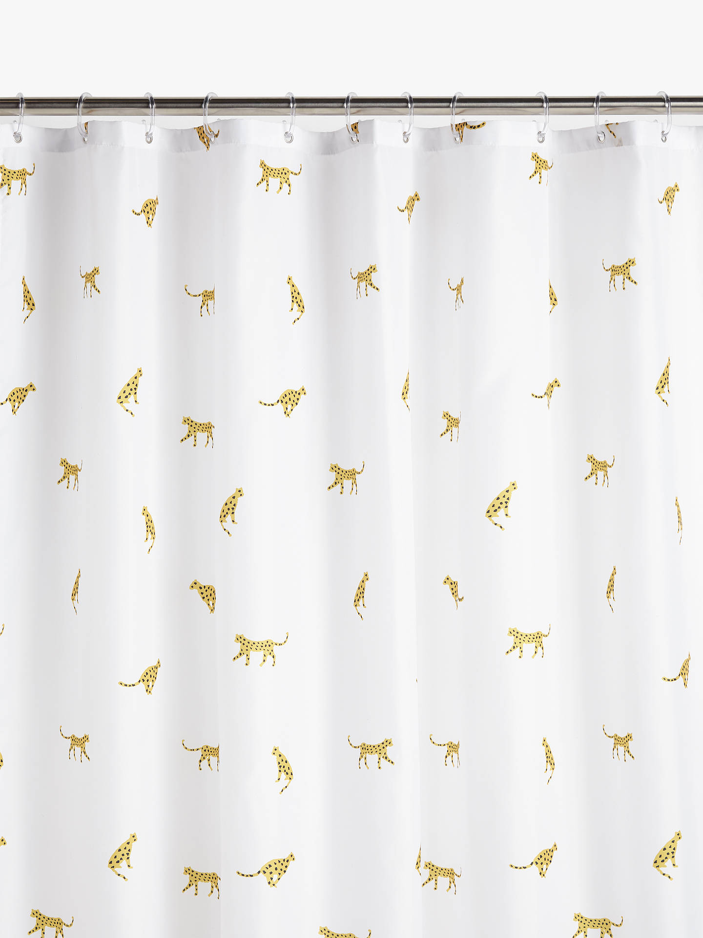 Buy John Lewis & Partners Cheetah Shower Curtain Online at johnlewis.com