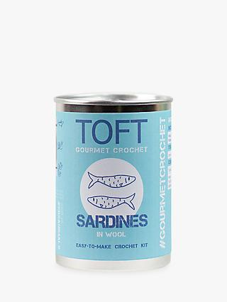 TOFT Sardines Crochet Kit in a Can