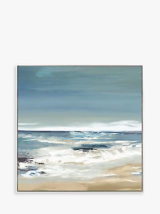 37eae6e666 Valeria Mravyan - East Coast II Framed Canvas Print