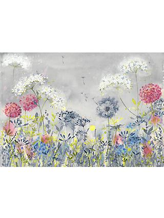 Catherine Stephenson - Dandelion Meadow Canvas Print, 70 x 100cm, Grey/Multi