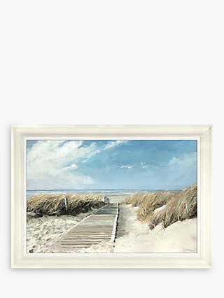 73c61ef03e Adelene Fletcher - To The Sea Framed Canvas Print