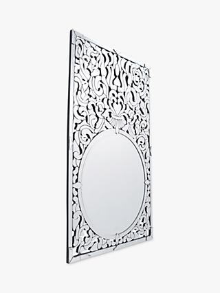 90c8b13eacf2 Libra Venezia Etched Mirror, Metallic, H136 x W86cm