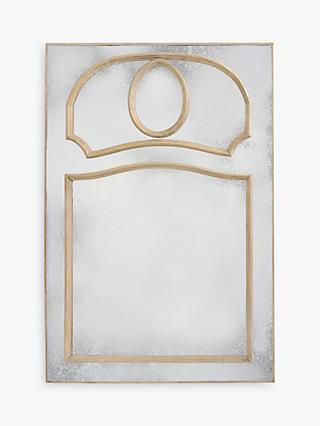 26dcc89a5463 Libra Homestead Vermont Mirror, Metallic, H132 x W90cm