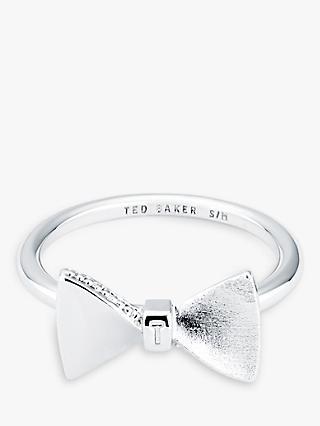 3a753bc50 Ted Baker Tenika Swarovski Crystal Bow Ring