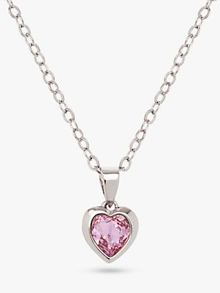 Ted Baker Hannela Swarovski Crystal Heart Pendant Necklace