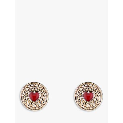350fa0c44dbae6 Ted Baker Brenaa Enamel Biscuit Button Stud Earrings