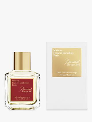 Maison Francis Kurkdjian Baccarat Rouge 540 Body Oil, 70ml