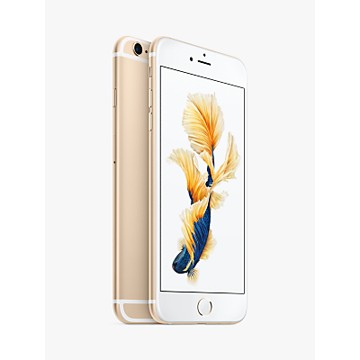 Apple iPhone 6s Plus, iOS, 5.5, 4G LTE, SIM Free, 128GB