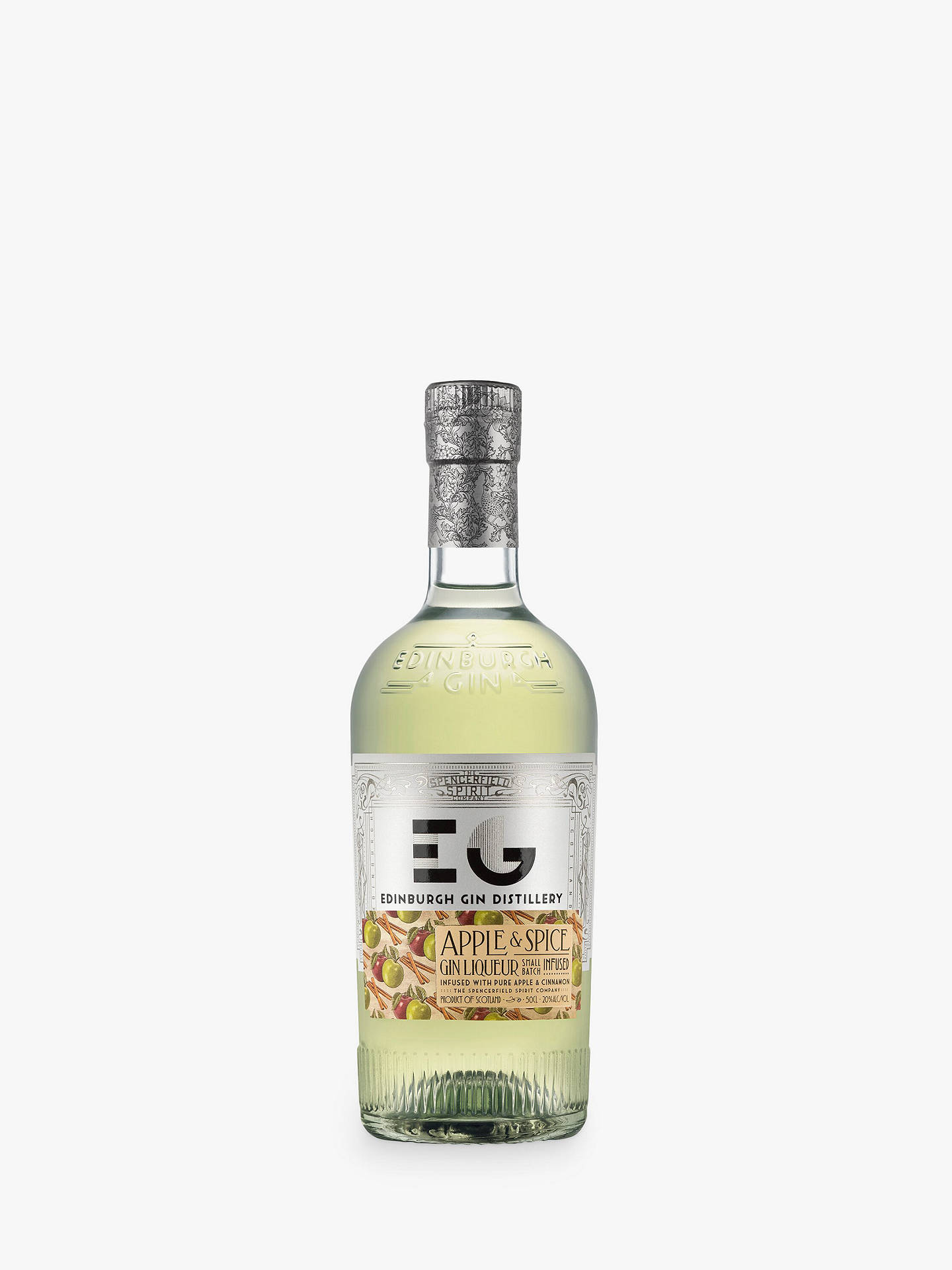 BuyEdinburgh Gin Apple & Spice Gin Liqueur, 50cl Online at johnlewis.com