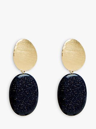 Lola Rose Luna Oval Drop Earrings