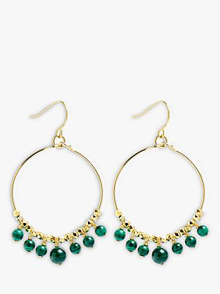 Lola Rose Dionne Hoop Drop Earrings
