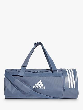 e5e021712ac9d adidas Convertible 3-Stripes Duffle Bag