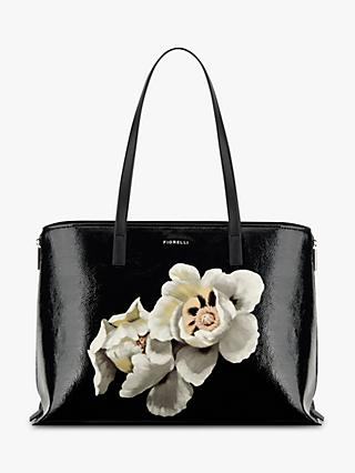 Fiorelli Somerset Fl Print Tote Bag Black Multi