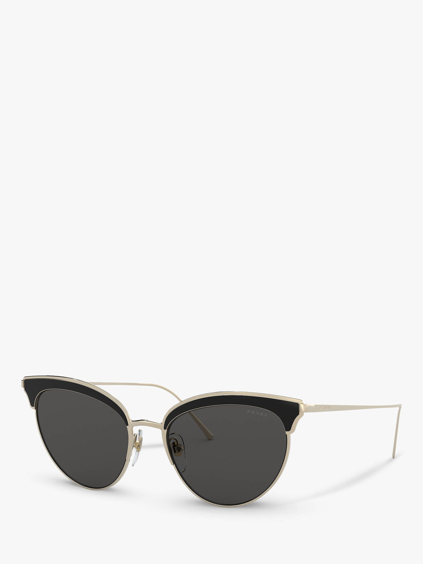 b8e5c178d97a Prada PR 60VS Women s Cat s Eye Sunglasses at John Lewis   Partners
