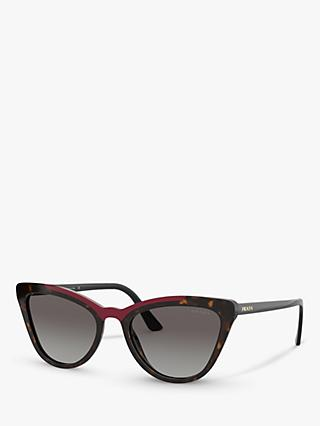 Prada PR 01VS Women's Cat's Eye Sunglasses