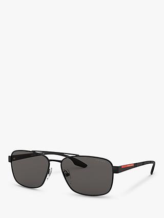 05e6fd02df4f Prada Linea Rossa PS 51US Men s Rectangular Sunglasses