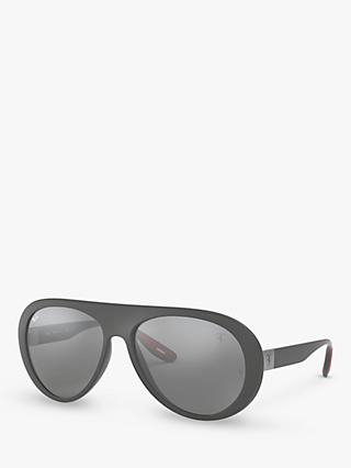 Ray-Ban RB4310M Women's Scuderia Ferrari Collection Aviator Sunglasses