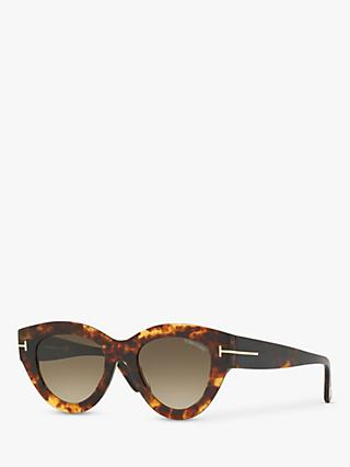 TOM FORD FT0658 Women's Slater Cat's Eye Sunglasses