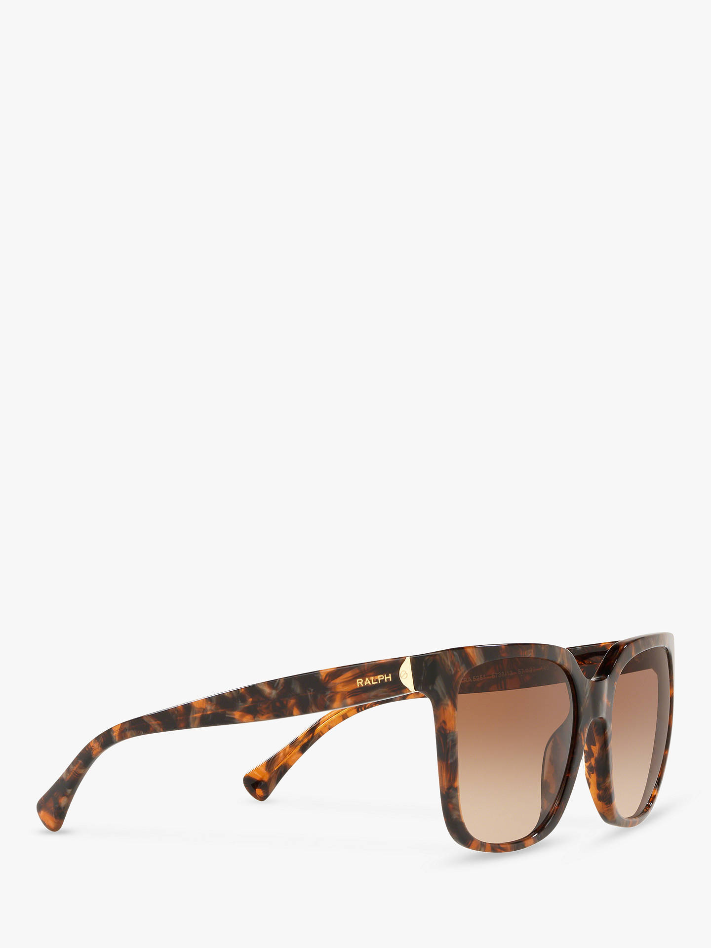 Marblebrown Polo Lauren Ralph Ra5251 SunglassesBrown Women's Square QrxCoEdeBW