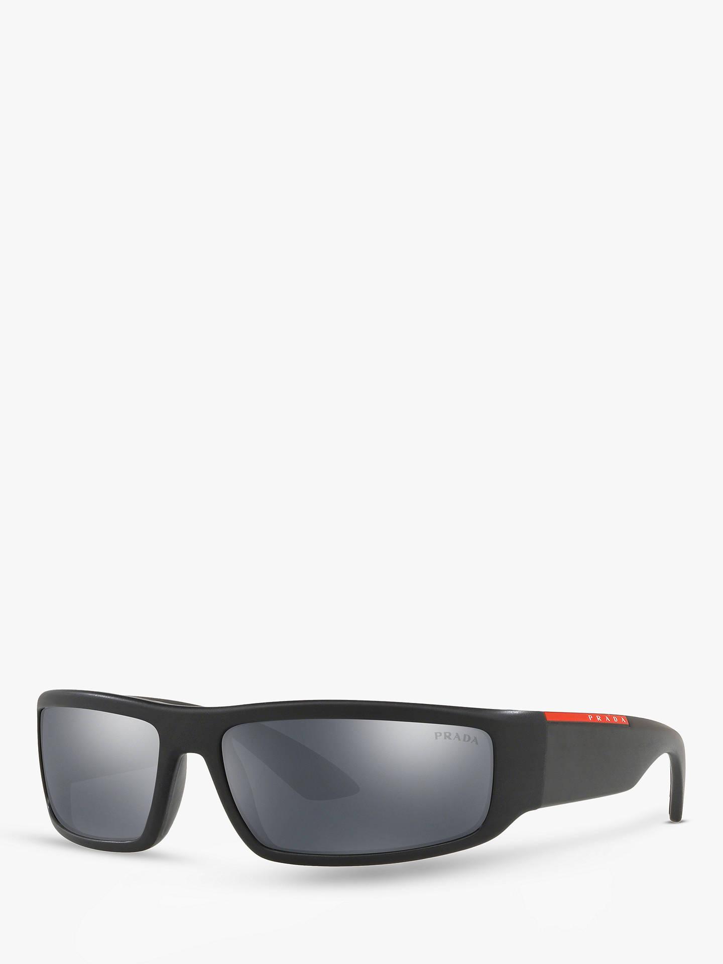 ebf9ad38dc0 Prada PS 02US Men s Rectangular Sunglasses at John Lewis   Partners
