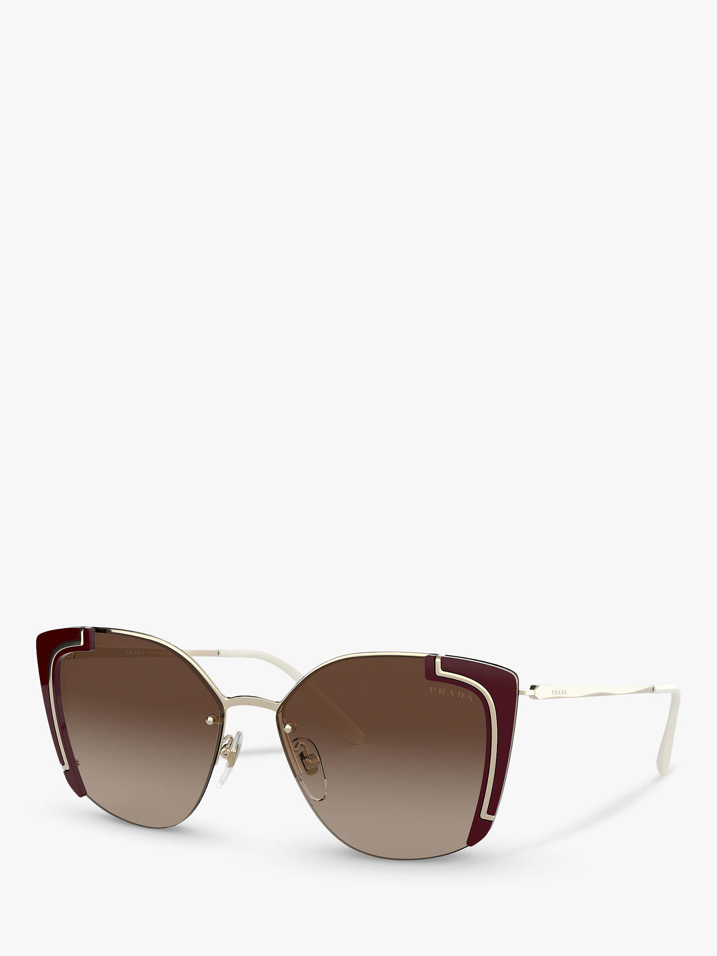 54be1fa24b2 BuyPrada PR 59VS Women s Square Sunglasses