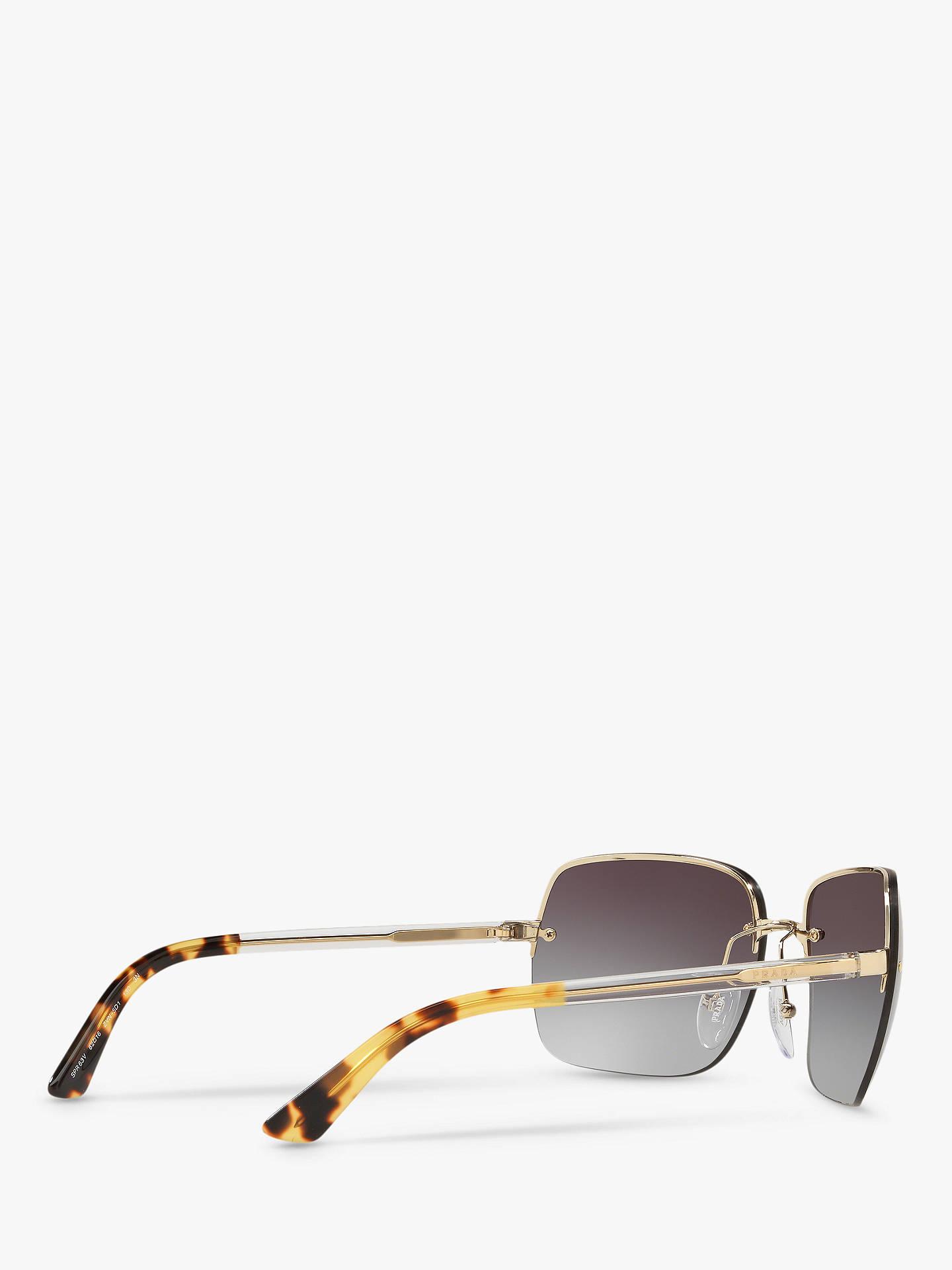 956e5a1d7c Prada PR 63VS Women s Square Sunglasses at John Lewis   Partners