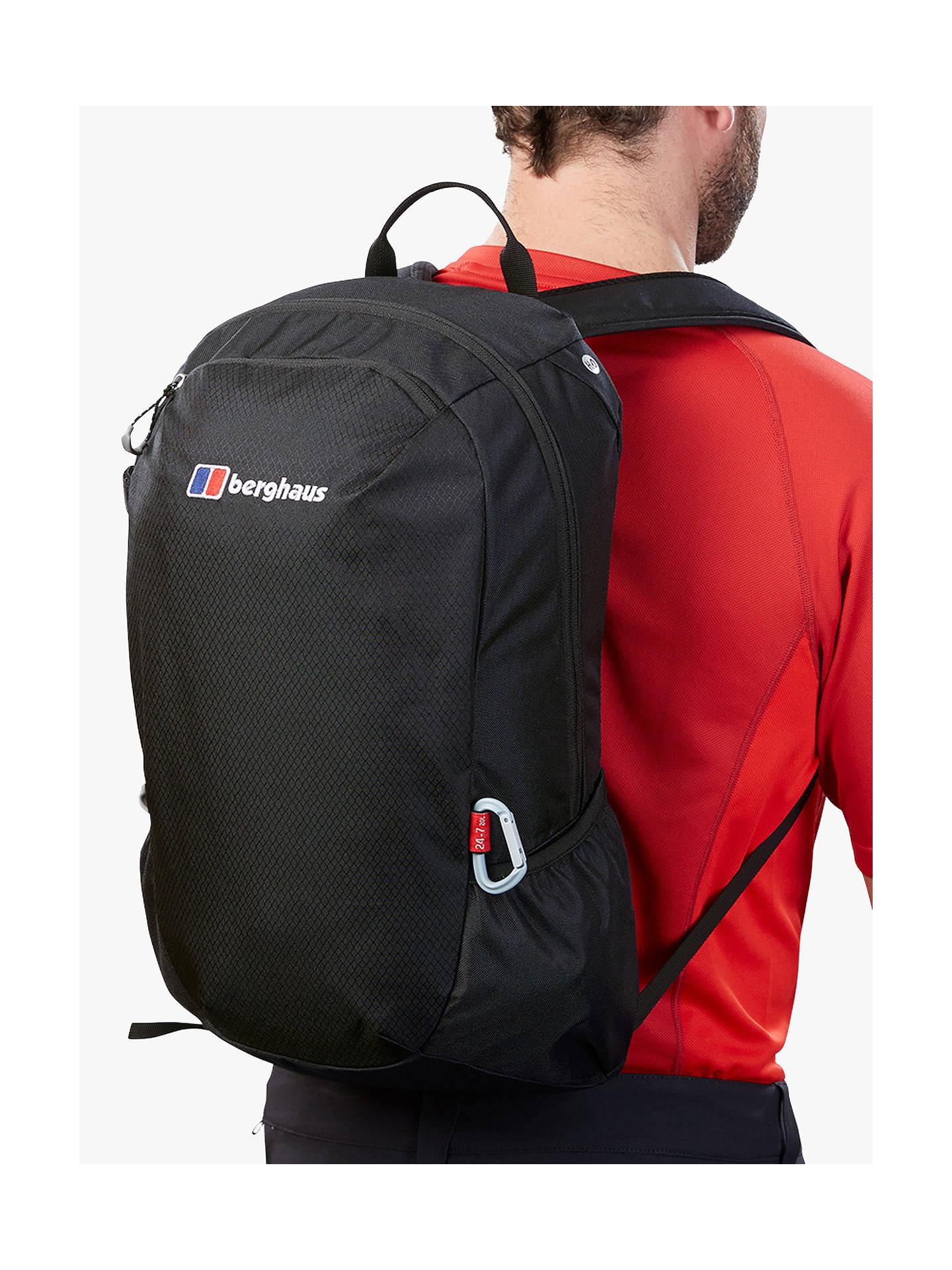 48292ca84 ... Buy Berghaus Twentyfourseven+ 20 Backpack, Black Online at  johnlewis.com ...
