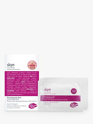 skyn ICELAND Plumping Lip Gels, x 4 Pairs