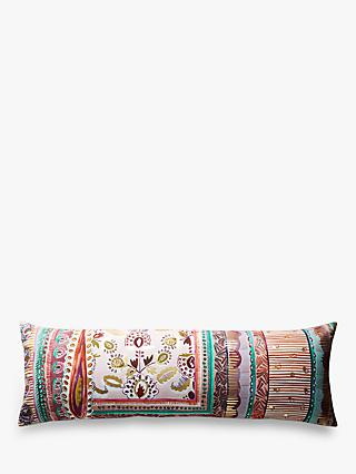 Anthropologie Sunder Rectangular Cushion, Pink / Multi