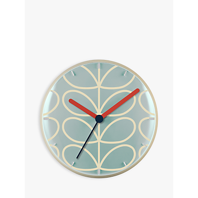 Orla Kiely Linear Stem Wall Clock, 30cm