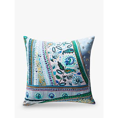 Anthropologie Sunder Square Cushion, Blue