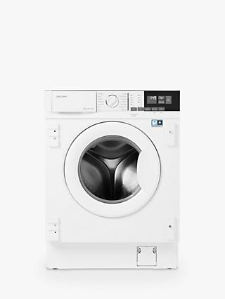 John Lewis & Partners JLBIWM1404 Integrated Washing Machine, 7kg Load, 1400rpm Spin, White