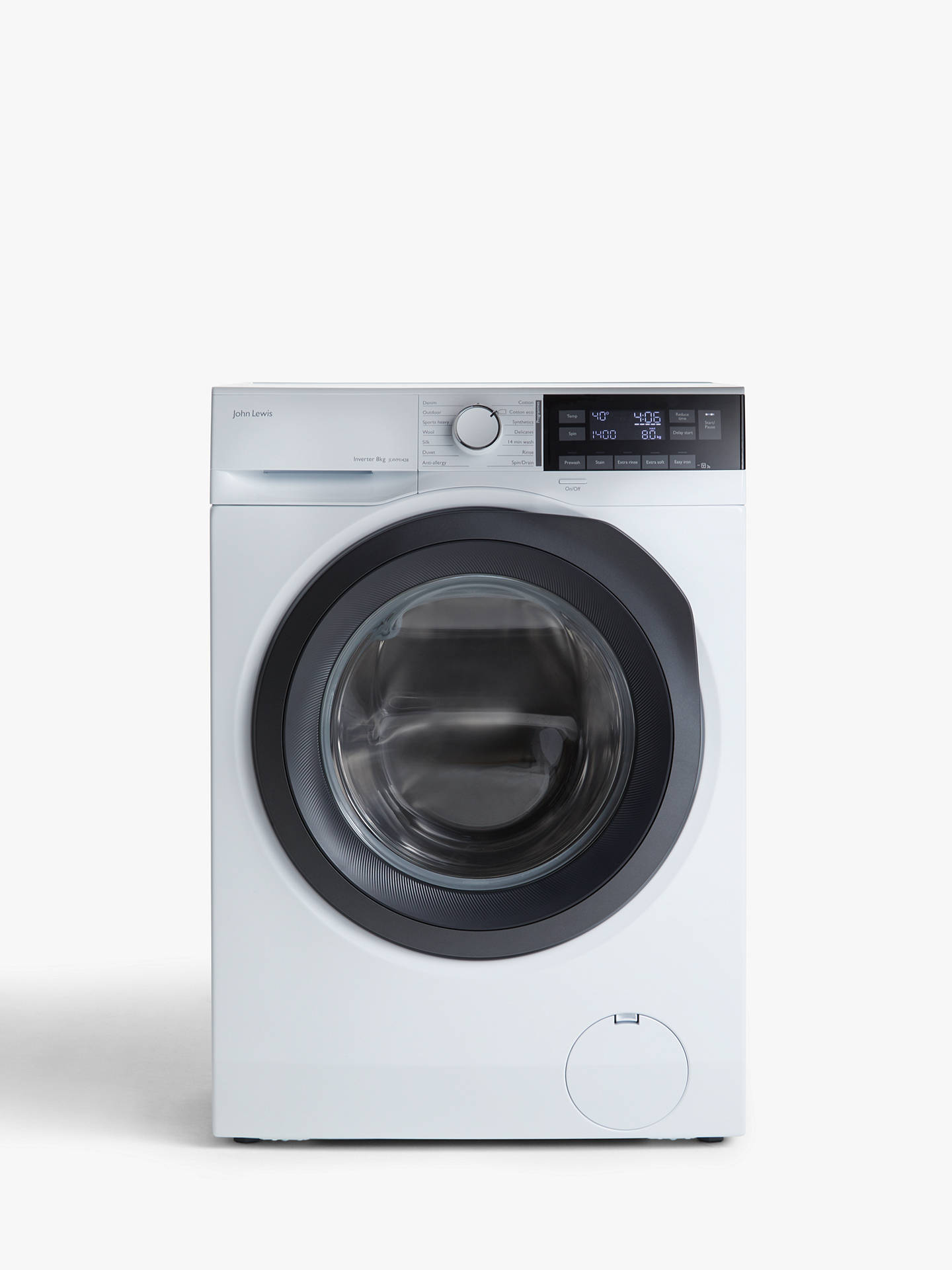 0b859bb91c9 Buy John Lewis   Partners JLWM1428 Freestanding Washing Machine