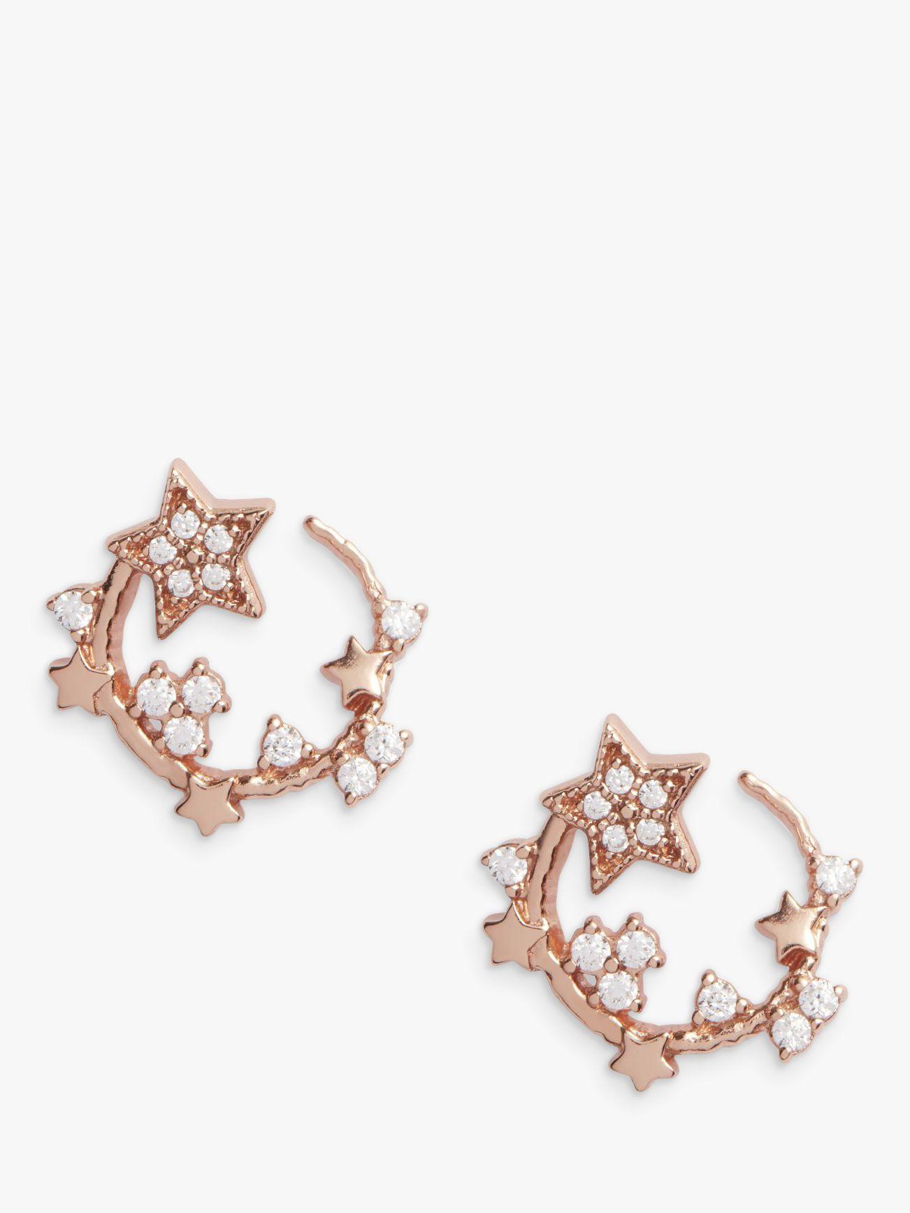Olivia Burton Olivia Burton Swarovski Crystal Star Hoop Earrings